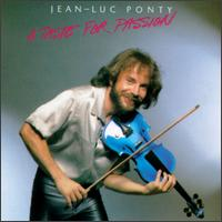 Jean-luc Ponty - A Taste For Passion CD (album) cover