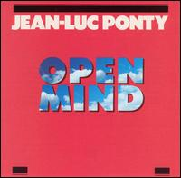 Jean-luc Ponty - Open Mind CD (album) cover