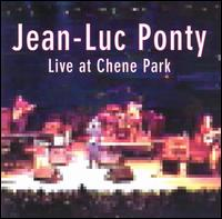 Jean-luc Ponty - Live At Chene Park CD (album) cover