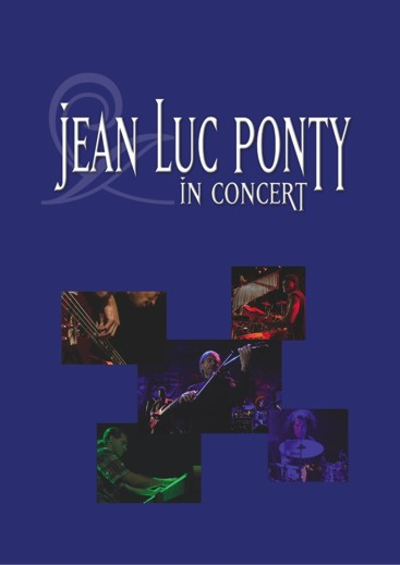 Jean-luc Ponty - Jean-luc Ponty In Concert Dvd DVD (album) cover