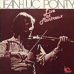 Jean-luc Ponty - Live At Montreaux 72 CD (album) cover