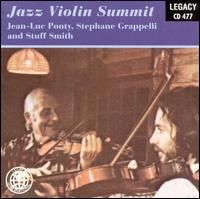 Jean-luc Ponty - Jazz Violin Summit (with Stephane Grappelli And Stuff Smith) CD (album) cover