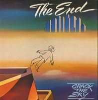 Crack The Sky - The End CD (album) cover