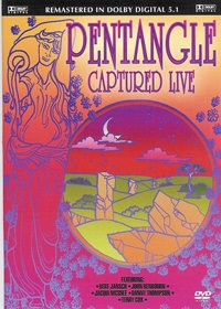 The Pentangle Captured Live CD album cover