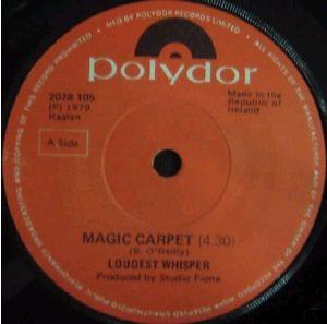 Loudest Whisper - Magic Carpet / Tangerine CD (album) cover