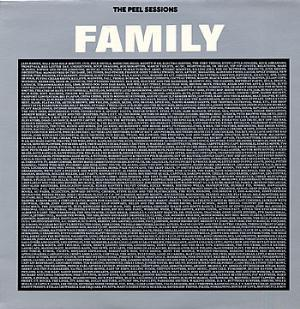 FAMILY - The Peel Sessions CD album cover