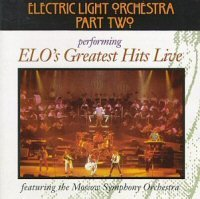 Electric Light Orchestra - Electric Light Orchestra - Greatest Hits Live CD (album) cover