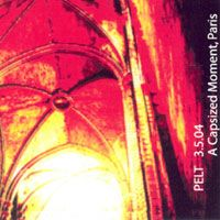 Pelt - A Capsized Moment, Paris 2004 CD (album) cover