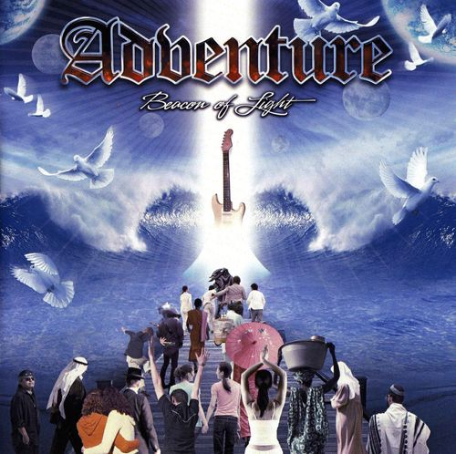 Adventure - Beacon Of Light CD (album) cover