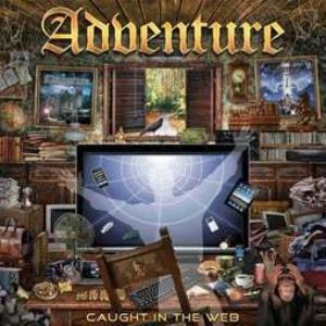 Adventure - Caught In The Web CD (album) cover
