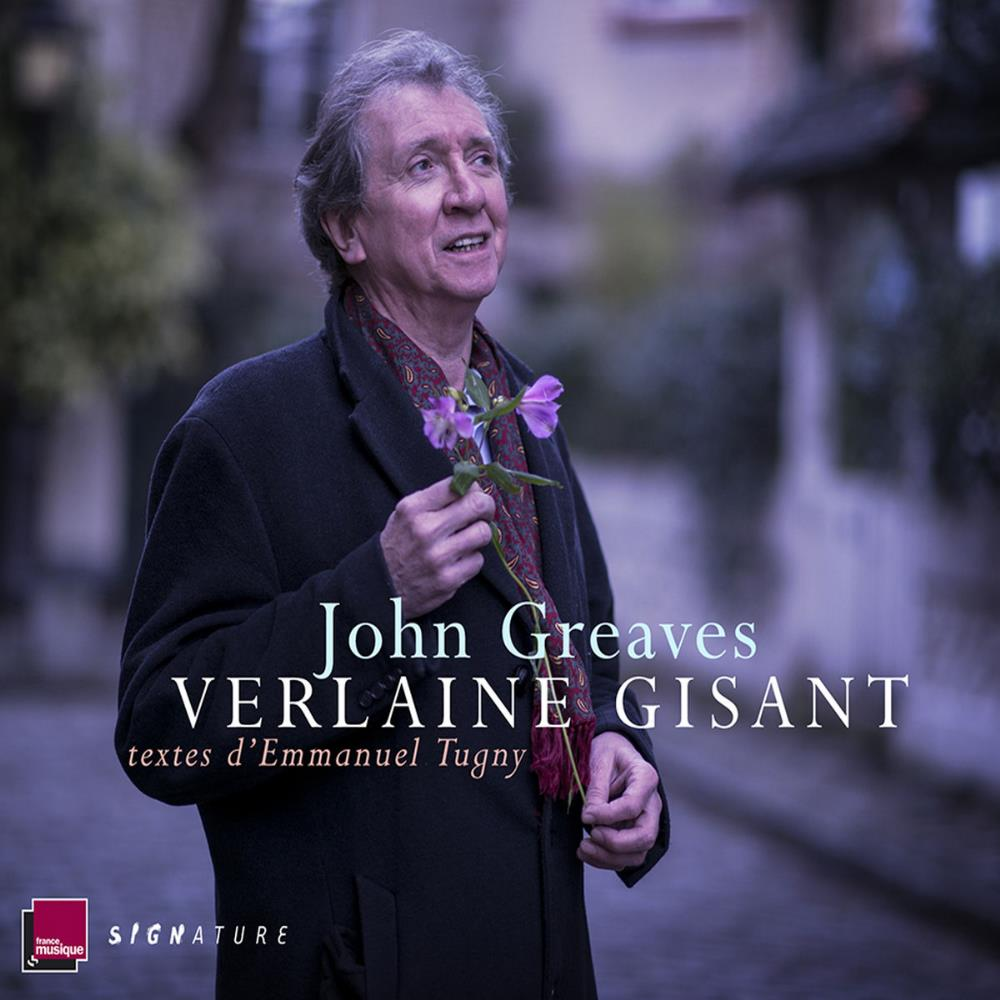 John Greaves - Verlaine Gisant CD (album) cover