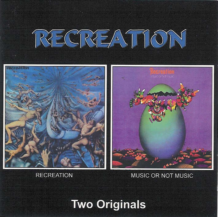 Recreation - Recreation / Music Or Not Music CD (album) cover