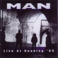 Man - Live At Reading '83 CD (album) cover