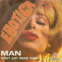 Man - Erotica / Don't Just Stand There CD (album) cover