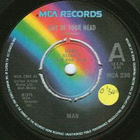 Man - Out Of Your Head / I'm A Love Taker CD (album) cover