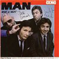 Man - What A Night / Last Birthday Party CD (album) cover