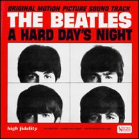 THE BEATLES - A Hard Day's Night (US Version) CD album cover
