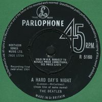 The Beatles - A Hard Days Night CD (album) cover