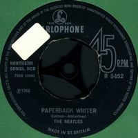 The Beatles - Paperback Writer CD (album) cover