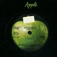 The Beatles - Ballad Of John And Yoko CD (album) cover