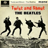 The Beatles - Twist And Shout CD (album) cover