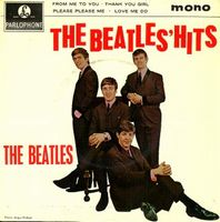 THE BEATLES - The Beatles Hits CD album cover
