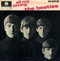 The Beatles - All My Loving CD (album) cover