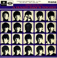 THE BEATLES - Extracts From The Film A Hard Day's Night CD album cover