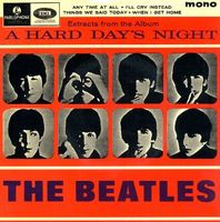 The Beatles - Extracts From The Album A Hard Day's Night CD (album) cover