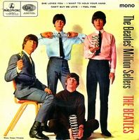 The Beatles - The Beatles Million Sellers CD (album) cover