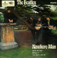 The Beatles - Nowhere Man CD (album) cover
