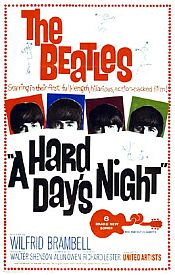 The Beatles - A Hard Day's Night DVD (album) cover