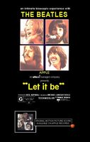 The Beatles - Let It Be DVD (album) cover