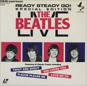 The Beatles - Ready Steady Go! The Beatles Live DVD (album) cover
