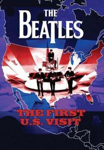 The Beatles - The First U.s Visit DVD (album) cover
