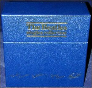 The Beatles - The Beatles Singles Collections CD (album) cover