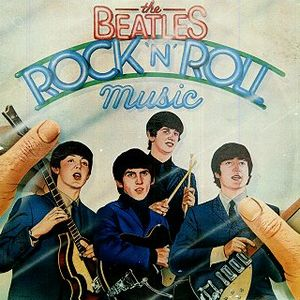 The Beatles - Rock 'n' Roll Music CD (album) cover