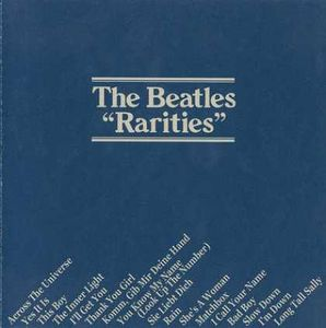 The Beatles - Rarities CD (album) cover