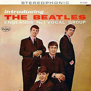 The Beatles - Introducing The Beatles CD (album) cover