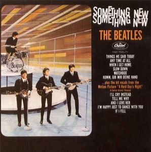 The Beatles - Something New CD (album) cover