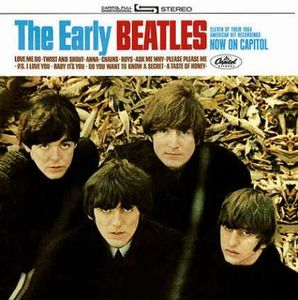 The Beatles - The Early Beatles CD (album) cover
