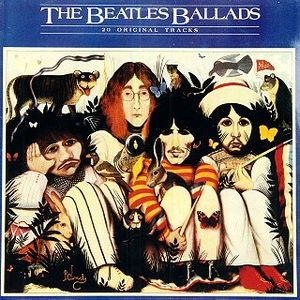 The Beatles - The Beatles Ballads CD (album) cover