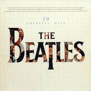 The Beatles - 20 Greatest Hits CD (album) cover