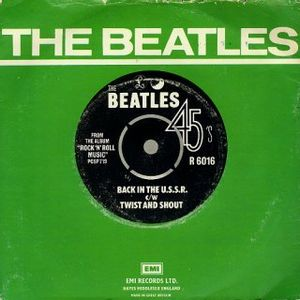 The Beatles - Back In The U.s.s.r. CD (album) cover