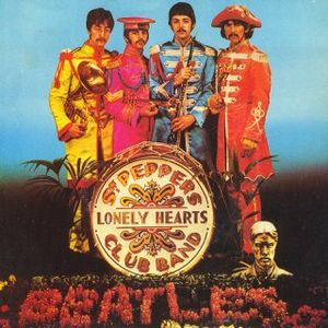 The Beatles - Sgt. Peppers Lonely Hearts Club Band/with A Little Help From My Friends CD (album) cover