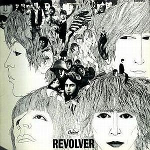 The Beatles - Revolver (us) CD (album) cover