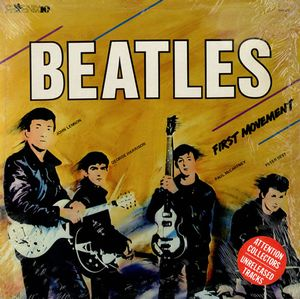 The Beatles - First Movement CD (album) cover