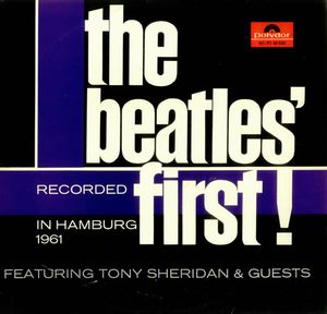 The Beatles - The Beatles' First CD (album) cover
