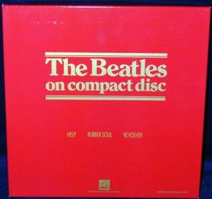 The Beatles - The Beatles On Compact Disc - Help / Rubber Soul / Revolver CD (album) cover