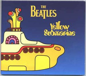 The Beatles - Yellow Submarine Songtrack Sampler CD (album) cover